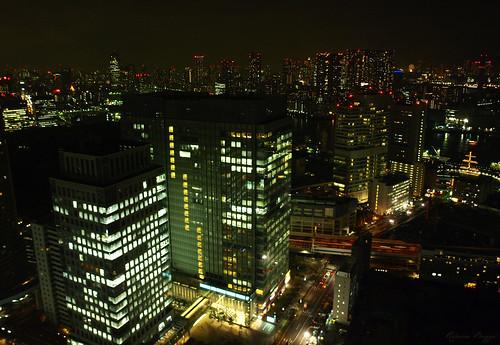 tokyo tokio 東京 japan nippon nihon 日本 japón japon giappone hamamatsuchō 浜松町 worldtradecenter 世界貿易センタービル night natt nacht notte nuit noche 夜