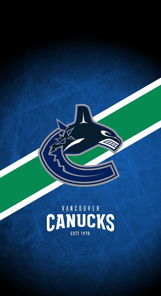 Vancouver Canucks Nhl Iphone X Xs Xr Lock Screen Wallpaper A Photo On Flickriver