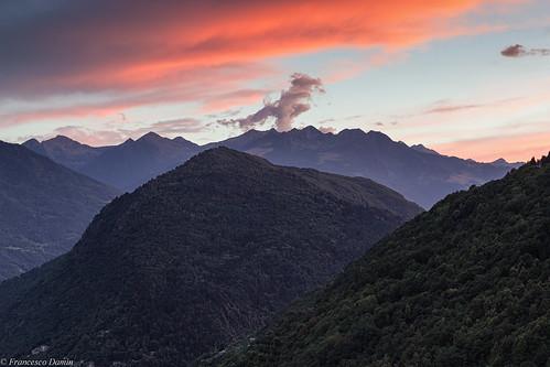 valtellina tramonto sunset lombardia lombardy italia italy ardenno canon canoneos60d tamronsp1750mmf28xrdiiivcld montagna mountains