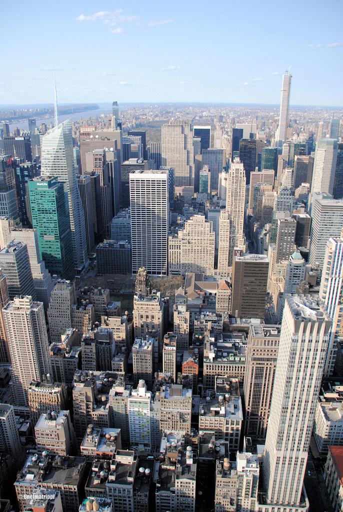 Näkymä Empire State Buildingistä