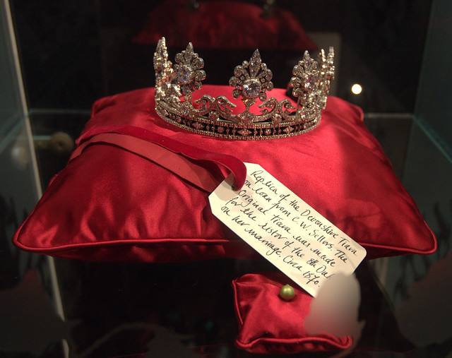 Devonshire Tiara at Chatsworth House