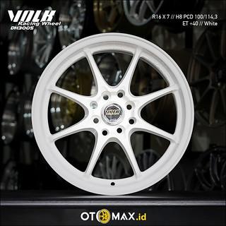 Velg Mobil Volk Dh3005 Ring 16 White Otomaxidproductvel