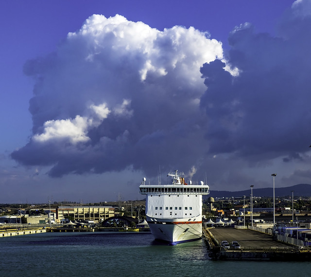 Clouded ferry