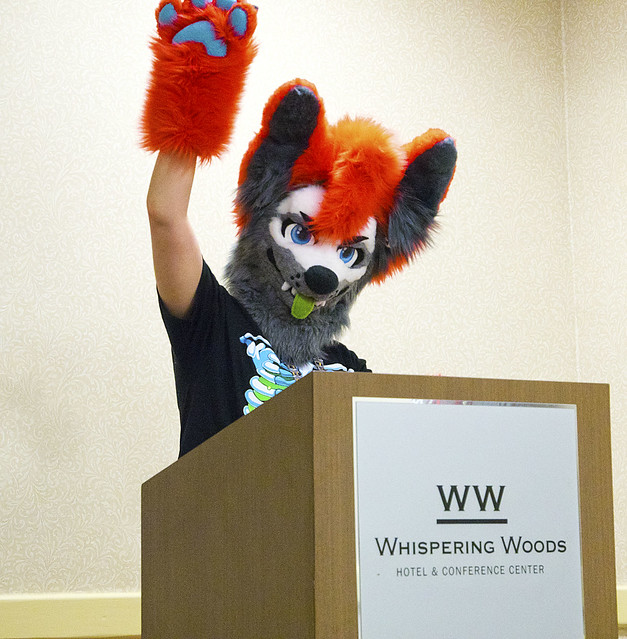 MFM 2018 08-31-2018 - Fursuit and Photographers Panel 5 - Coydog