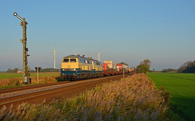 DB Railsystems 218 490-1 + 218 480-2 - Klanxbüll