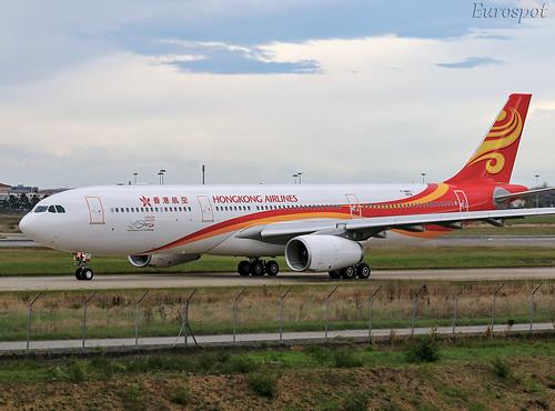 F-WWYI Airbus A330 Hong Kong Airlines | by @Eurospot