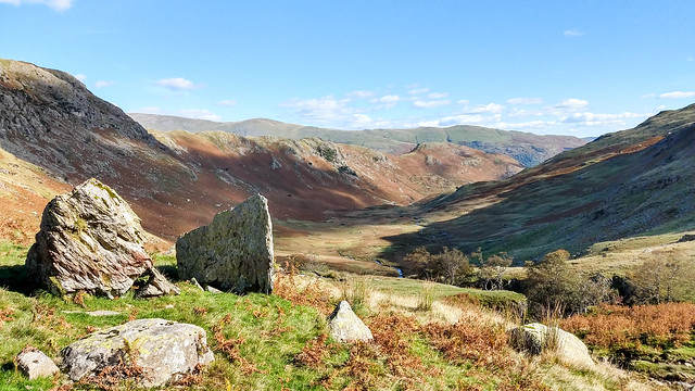 Down Far Easedale to Helm Crag