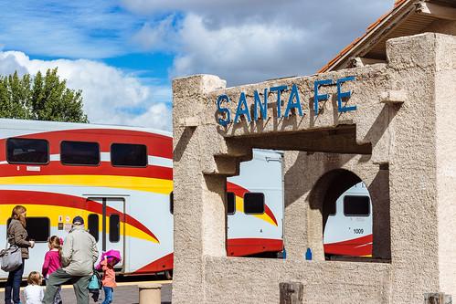 Rail Runner Express train, Santa Fe Depot | by Trevor.Huxham