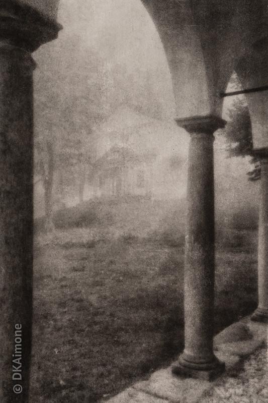 Oropa in Fog