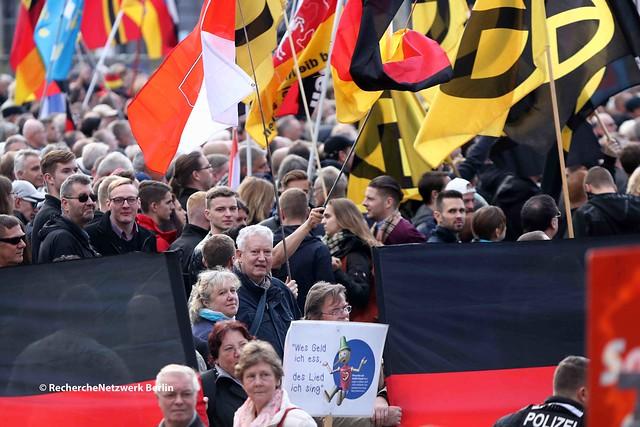"""21.10.2018 Dresden: Vier Jahre """"PEGIDA Dresden"""""""
