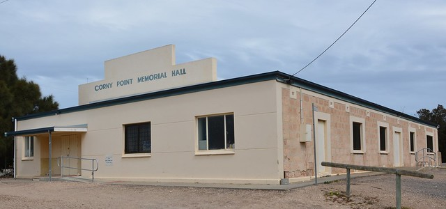 Corny Point Memorial Hall, Yorke Peninsula South Australia
