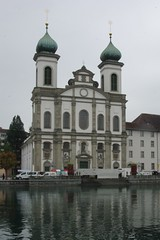 18-544  Lucerne's Jesuit Church