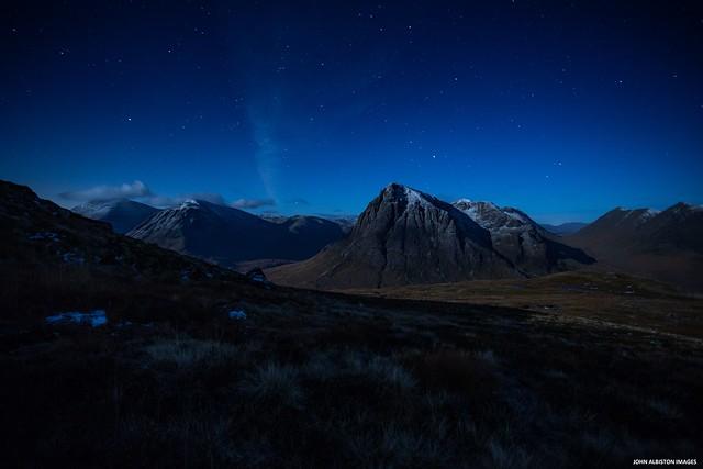 Buchaille Etive Mor By Moonlight
