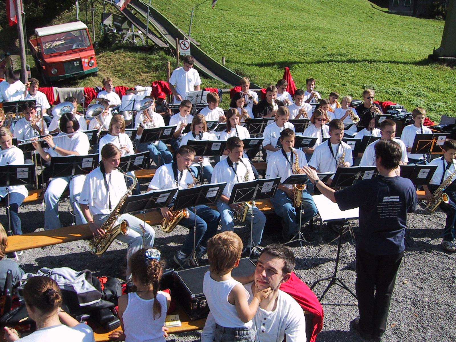 Jugendmusiklager 2001