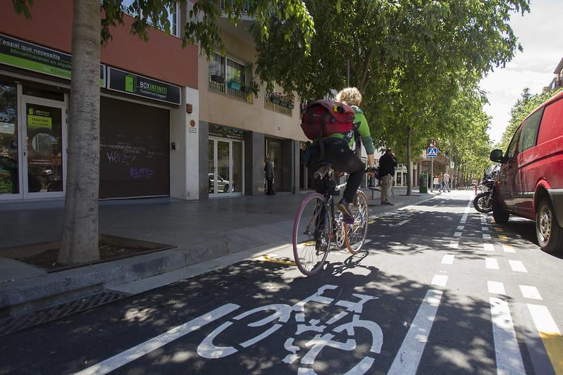 Carril bici Joan Güell