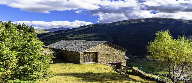 Borda tipica d'Andorra