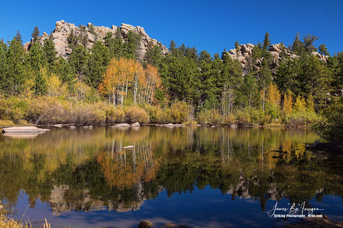 redfeather lakes colorado reflections autumn colors nature landscapes trees calm peaceful jamesboinsogna photography commercialart imagelicensing ponds rockymountains redfeatherlakes unitedstates