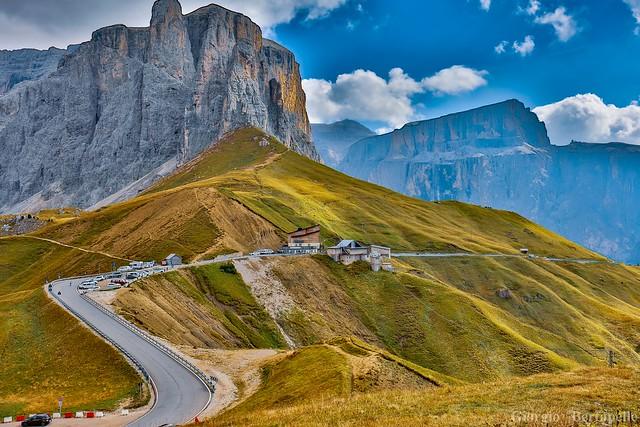 Le strade del Giro...