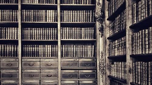 Books monochrome | by vincentag