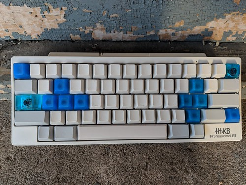 HHKB Professional BT with Fendent/Polymer Salon, Tokkipee, & MFCaps | by iamrobotbear