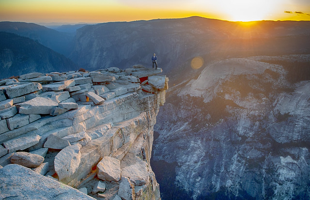 On the top of the top of Half Dome