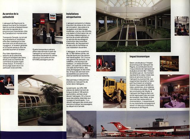 Regina Airport / Aéroport de Regina; 1997_3, french lang., Canada