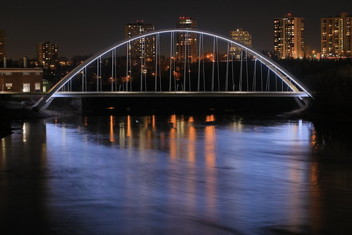 walterdalebridge walterdale bridge night yeg edmonton arch water river building city reflection urban evening architecture light dusk cityscape outdoors downtown sky archbridge outdoor town travel waterway landscape large lighting scenery long arched illuminated exposure