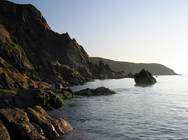 Rocky shoreline, Cornwall