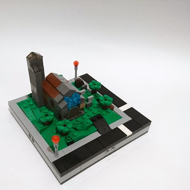 microscale country church