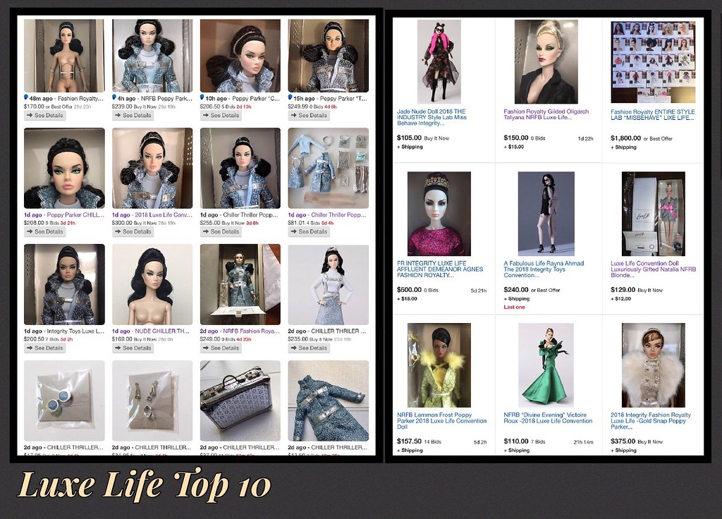 DOLL GLOVED HANDS FROM LEMON FROST POPPY PARKER FASHION ROYALTY LUXE LIFE CONV
