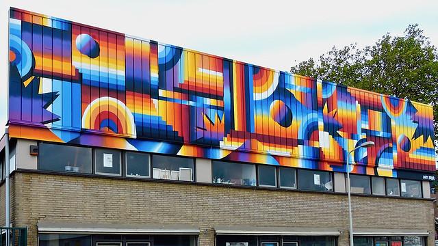 Den Haag mural: DARRY PERIER
