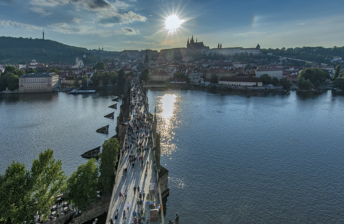 Prague from Old Town Bridge Tower | by acase1968