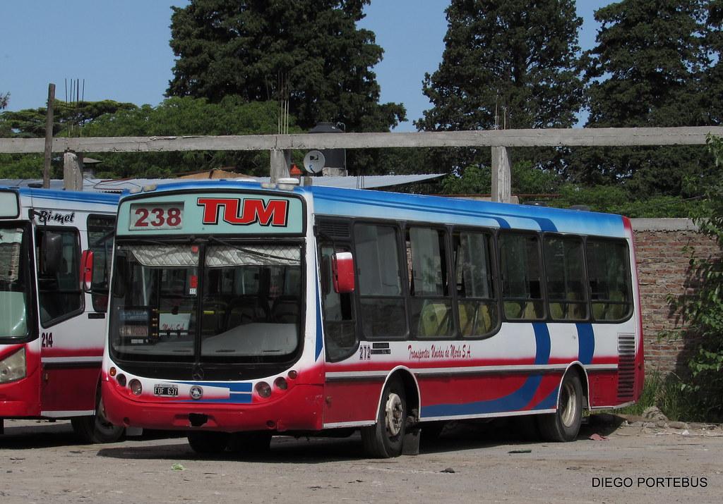 TRANSPORTE UNIDOS DE MERLO 272   LINEA 238 INT 272 METALPAR …   Flickr
