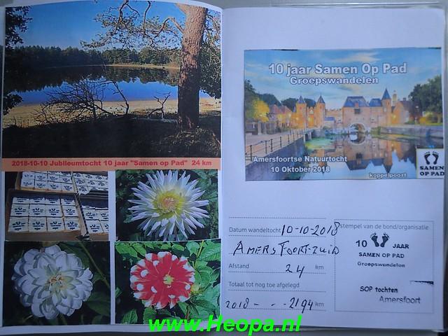 2018-10-10 Amersfoort-zuid     Natuurtocht        24 Km   (223)