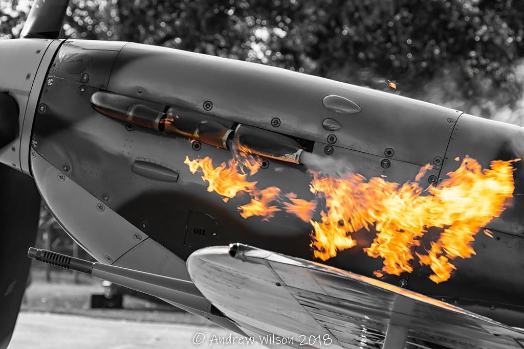 Spitfire MkV AB910