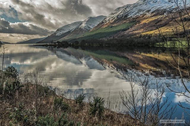 Great Glen at Ceann Loch near Loch Lochy.
