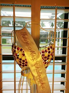 Custom bridal sash www.etsy.com/shop/stitchcottage | by Stitchcottage