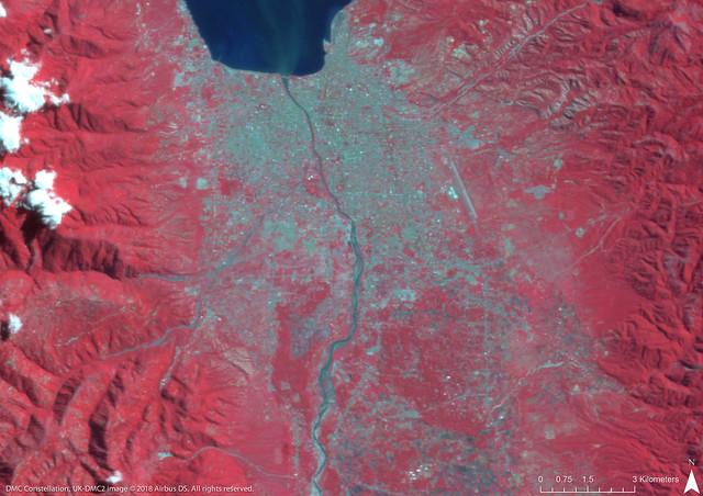 Before the Sulawesi Earthquake and Tsunami, Indonesia