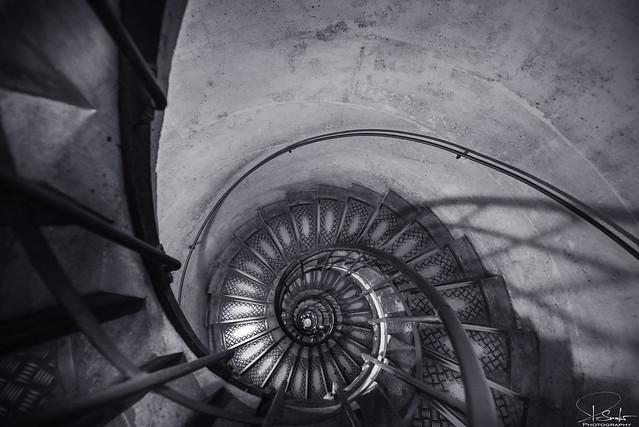 Inside Arc de Triomphe - Paris - France