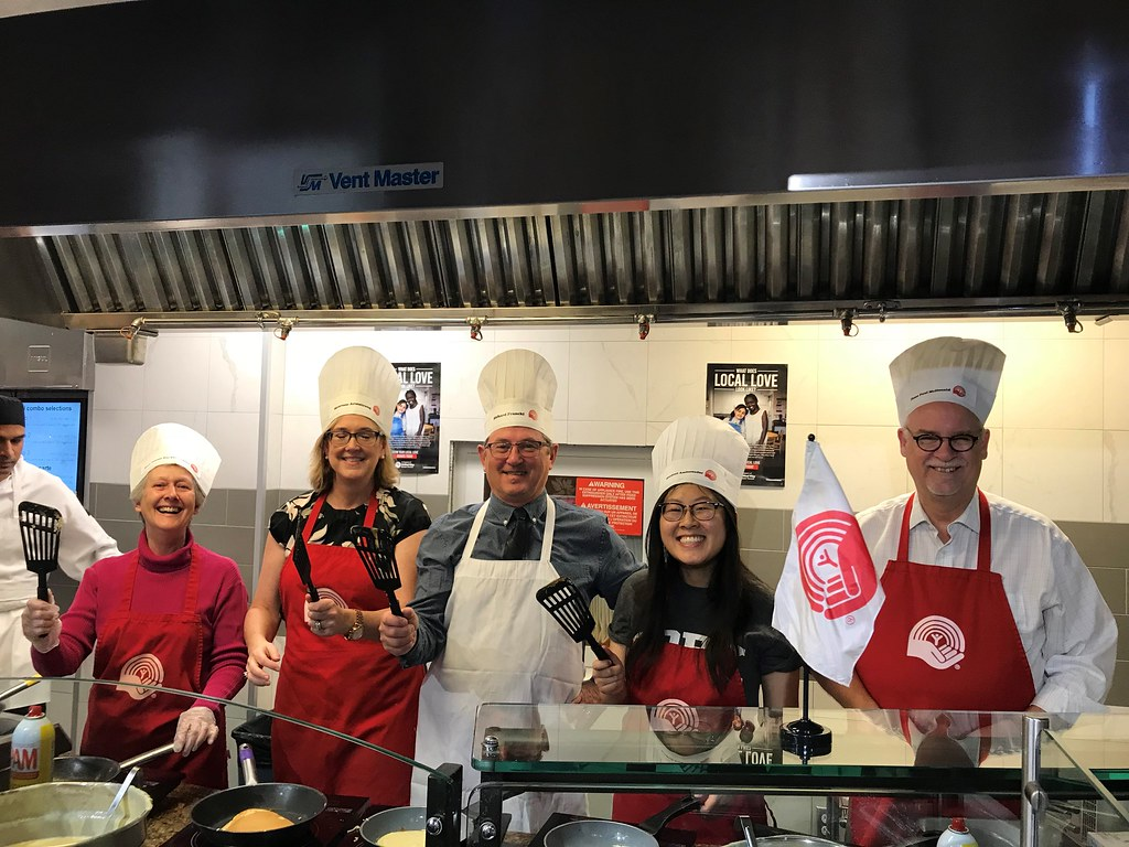 York Cares United Way Campaign Pancake Breakfast