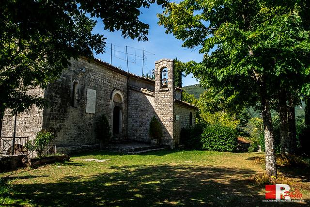 Chiesa Madonna della Rocca, Jenne (Rm)