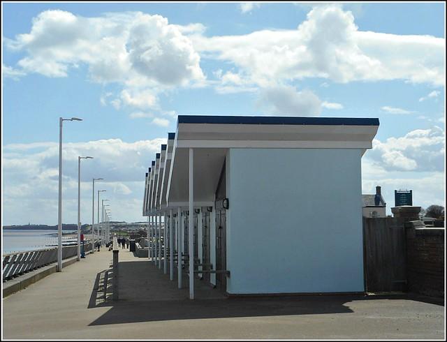 Modern Style Beach Huts ..