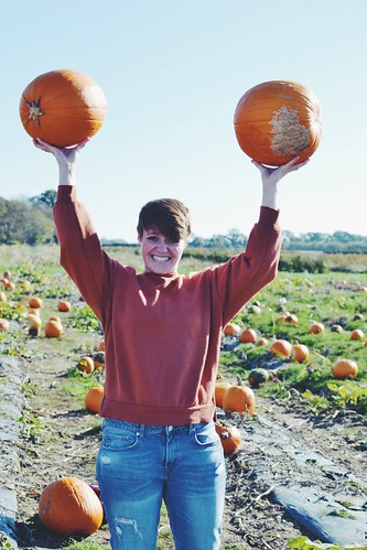 Pumpkin lifting | by My Two Mums