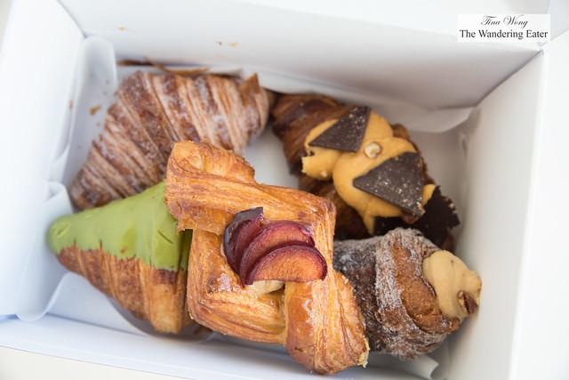 My box of pastries