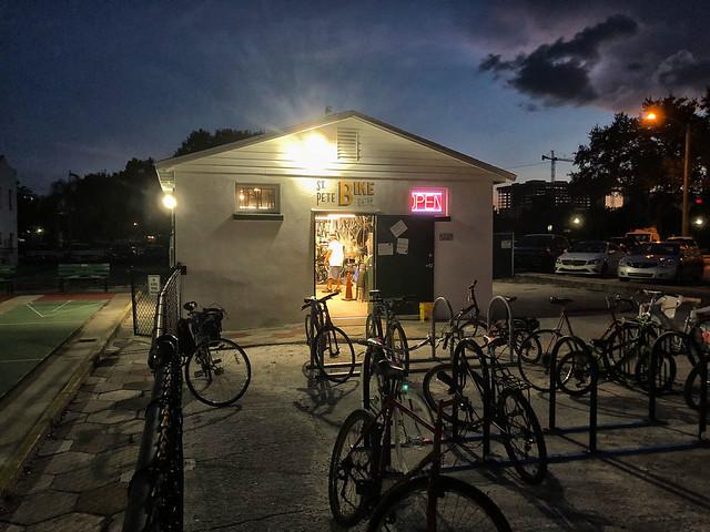 Twilight, St. Pete Bike Co-op
