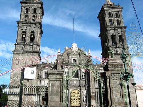 Torre de la Catedral de Puebla