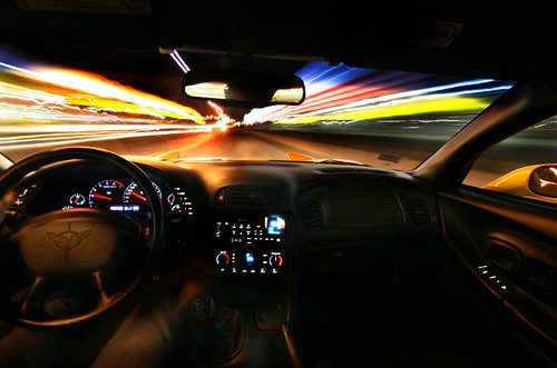 longexposure blur speed cruising mcdonalds corvette eyecandy cotcmostinteresting colorphotoaward superaplus aplusphoto tribeofbeautyfreedompeace
