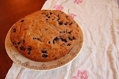blueberry banana cake   by SouleMama