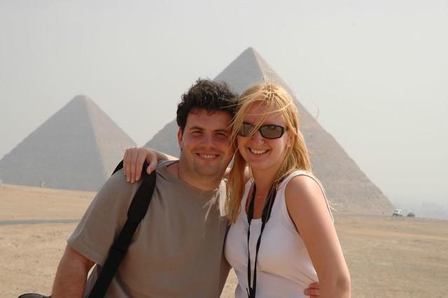 Me and Majka in Giza