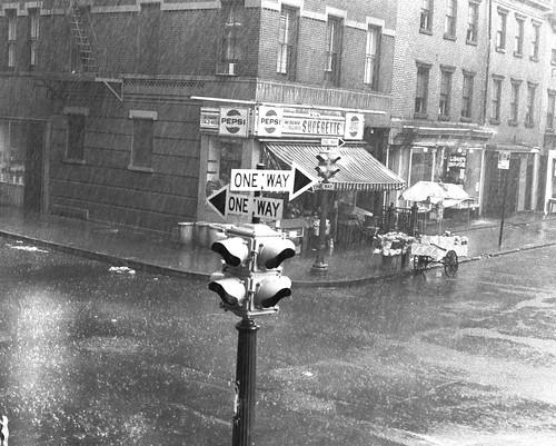 Greenwich Village thunderstorm, 1969 | by Ed Yourdon